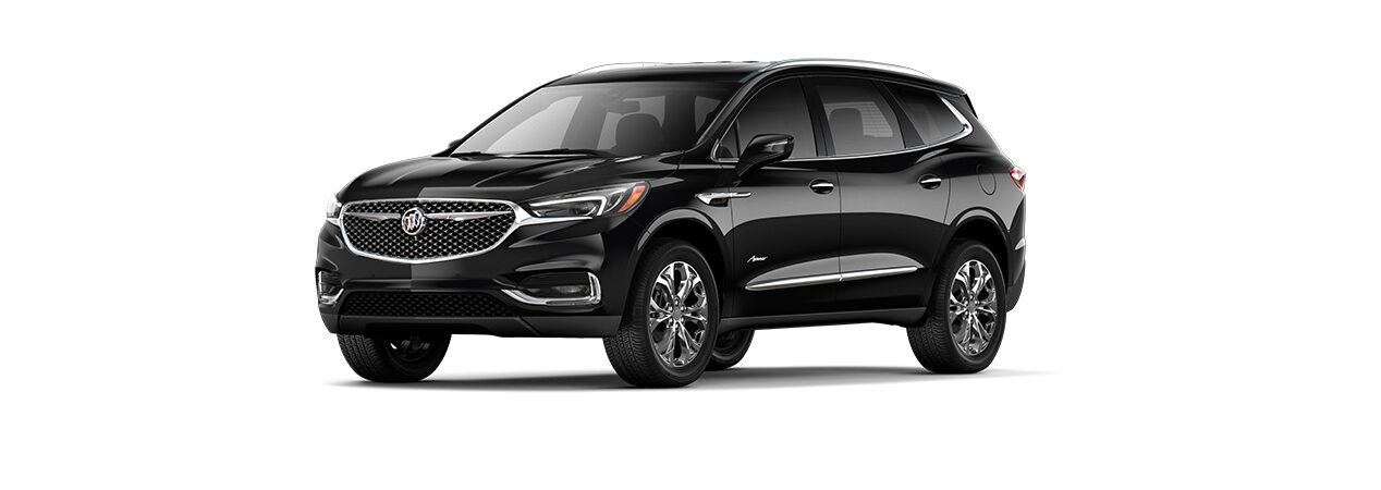 Camioneta familiar Buick Enclave 2019 color negro ónix
